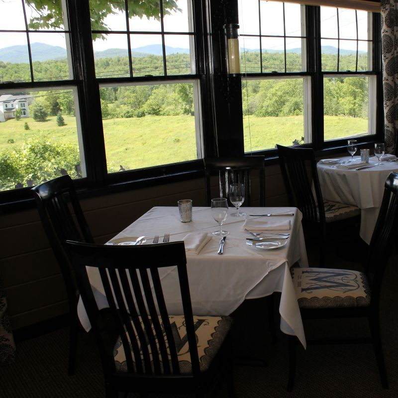 Your Locally Sourced Dining Experience Michaels On The Hill - Vermont farm table reviews